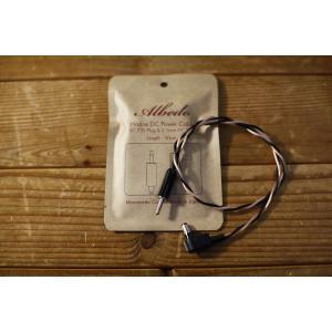渋谷店 / Albedo アルベド / Hodos DC Power Cable / SC750 Plug & 2.1mm DC Plug / 50cm /ピンDCケーブル hoochies