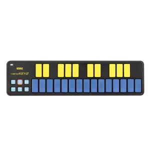 KORG コルグ / USB MIDIコントローラー / NANO KEY2 ブルー&イエロー|hoochies
