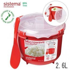 sistema システマ Microwave マイクロウェーブ ライスクッカー2.6 実用容量:2.4L 60‐801|hoonstore