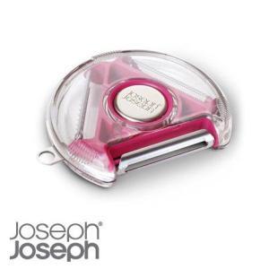 JosephJoseph ジョセフジョセフ ロータリーピーラー ピンク|hoonstore