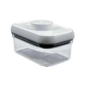 【在庫限定特価品】オクソー(OXO) ポップコンテナ − レクタングル(ミ二) 0.5L ホワイト hoonstore