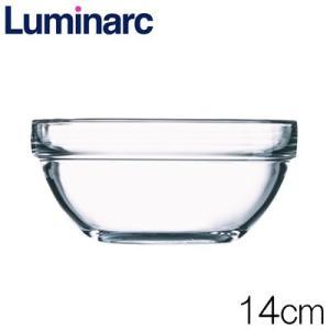 リュミナルク Luminarc アンピラブル サラダボウル14cm 品番:2370-328 強化ガラス製|hoonstore