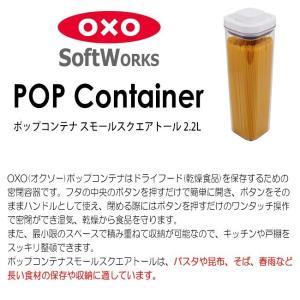 オクソー OXO ソフトワークス  ポップコンテナ スモールスクエア トール 2.2L 品番:843-612|hoonstore|04