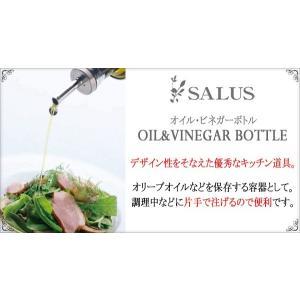 佐藤金属興業 SALUS カプリ オイル&ビネガージャー  Mサイズ 容量:250ml|hoonstore|03