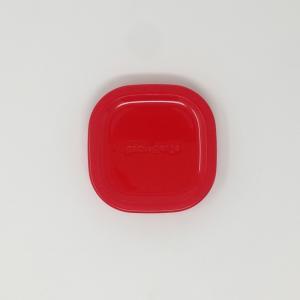 【部品】iwaki イワキ パック&レンジ  200ml ミニ 用のフタ カラー:レッド|hoonstore