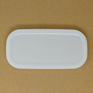 【部品】iwaki イワキ パック&レンジ  500ml ハーフ用のフタ カラー:クリアホワイト|hoonstore