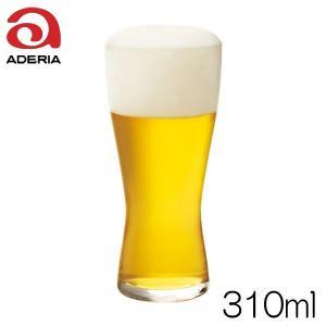 石塚硝子 アデリアグラス 薄吹きビアグラスM B-6770 容量310ml 強化ガラス製|hoonstore