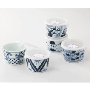 西海陶器  染付紋      ノンラップ鉢 ミニ揃     52797  波佐見焼     材質:磁器|hoonstore