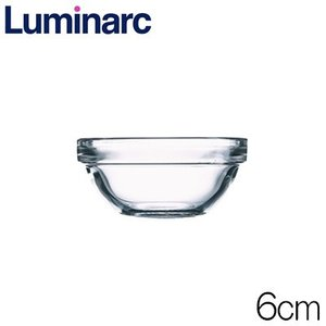 リュミナルク Luminarc アンピラブル サラダボウル6cm 品番:2370-310 強化ガラス製|hoonstore
