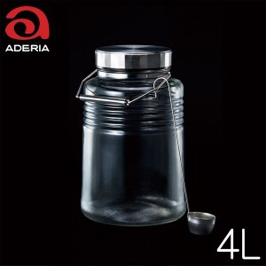 アデリアグラス MCコンテナ4L ※レードル付|hoonstore