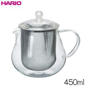 ハリオ HARIO リーフティーポット・クリア  実用容量450ml|hoonstore