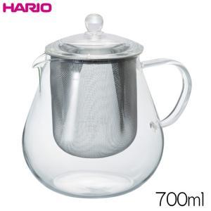 ハリオ HARIO リーフティーポット・クリア  実用容量700ml|hoonstore
