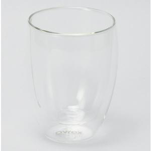 パイレックス PYREX 耐熱ダブルウォールグラス 2個組  容量:350ml CP-8539 *ロゴ入り|hoonstore