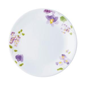 ●水彩で描かれたようなバイオレットの花模様。かわいらしさとエレガントさをテーブルに添えます。  ●独...