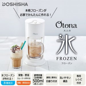 【在庫処分品】DOSHISHA 大人の氷フローズン クリアカ...