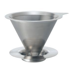 HARIO(ハリオ)       ダブルメタルメッシュメタルドリッパー ・1〜2杯用     DMD-01-HSV|hoonstore