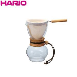 ハリオ HARIO ドリップポット・ウッドネック オリーブウッド 実用容量240ml 1〜2杯用|hoonstore