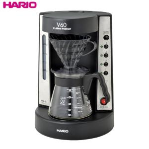 ハリオ HARIO NEW!V60珈琲王コーヒーメーカー ブラック 実用容量750ml  ドリッパー色:透明ブラック|hoonstore