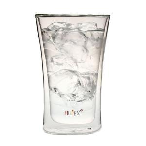 ヒューレックス HUREX 耐熱ダブルウォール ビアグラス 容量400ml|hoonstore