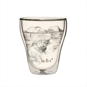 ヒューレックス HUREX 耐熱ダブルウォールグラス フォルテ 容量320ml