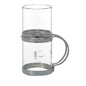 ハリオ HARIO ホットチューハイグラス シルバー 実用容量 280ml 満水容量 310ml|hoonstore