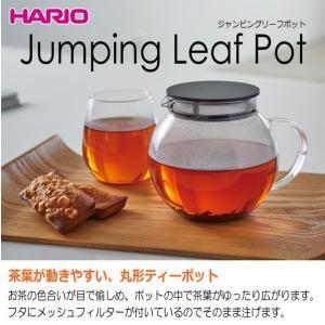 ハリオ HARIO ジャンピングリーフポット 実用容量600ml|hoonstore|03