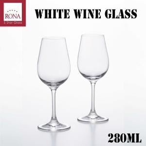 石塚硝子 アデリアグラス RONA ホワイトワインペア 容量280ml|hoonstore