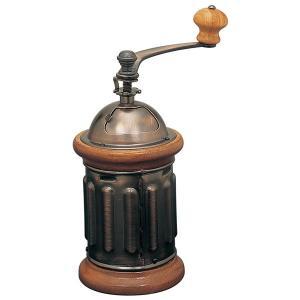 ●調節ネジを右へまわすと細挽きに。左へまわすと粗挽きができる手挽きコーヒーミルです。  ●コーヒー豆...