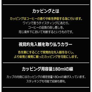 ハリオ HARIO カッピングボウル 粕谷モデル 磁器製 有田焼 満水容量260ml  カラー:ブラック|hoonstore|06
