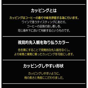 ハリオ HARIO カッピングスプーン 粕谷モデル ステンレス製 カラー:マットブラック|hoonstore|06