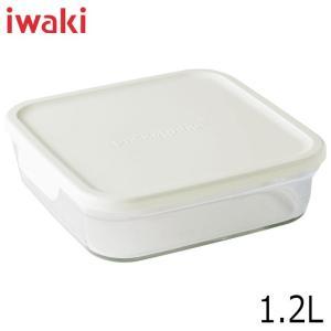 iwaki イワキ パック&レンジ BOX 大 深型 ホワイト 満水容量1.2L|hoonstore