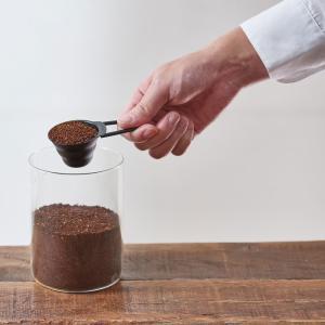 ハリオ HARIO V60計量スプーン マットブラック ステンレス製 コーヒー粉すりきり12g|hoonstore|03