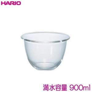 ハリオ HARIO 耐熱ガラス製ボウル3個セット 満水容量900ml、1500ml、2200ml 混ぜやすく、深い形状のボウル♪|hoonstore|03