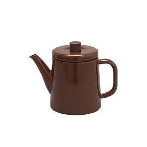 野田琺瑯 ポトル1.5L 茶 BR|hoonstore