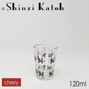 【在庫限定特価品】Shinzi Katoh ちびグラス cherry RG-20582 容量120ml ※箱なし|hoonstore