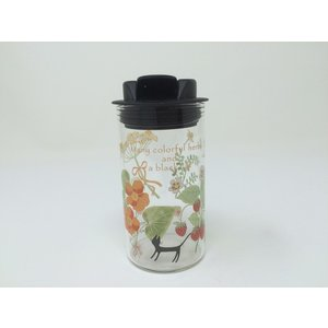 ShinzKatoh  塩・コショウ入れ 耐熱ガラス 120ml colorfulherbs RG-20981|hoonstore
