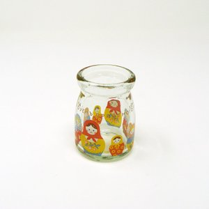 【在庫限定特価品】ShinziKatoh ミルクボトル matreshka 容量90ml hoonstore