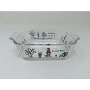 【在庫限定特価品】iwaki イワキ Shinzi Katoh 耐熱トースター皿 ハーフ pandora Redhood 満水容量340ml RG-21297|hoonstore
