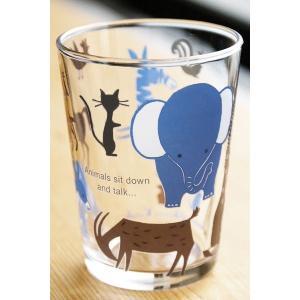 【在庫限定特価品】Shinzi Katoh ちいさめコップ animals 満水容量175ml|hoonstore|03