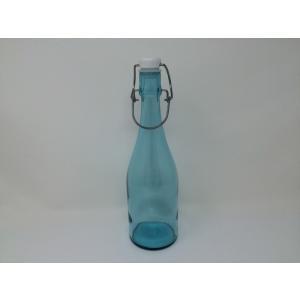 【訳あり在庫限処分品】Shinzi Katoh 密封ウォーターボトル ライトブルー RG-30937 *フタに汚れ等あります。|hoonstore