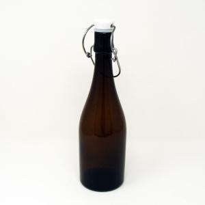 【訳あり在庫限処分品】Shinzi Katoh 密封ウォーターボトル ブラウン *フタに汚れ等あります。|hoonstore