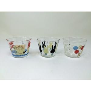 【在庫処分品】ShinziKatoh 耐熱ガラスプリンカップ 小 満水容量150ml monpeluch 3柄 3個組 RG-36006-3|hoonstore