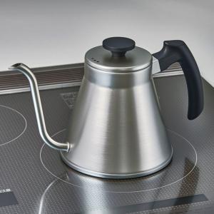 ハリオ HARIO V60ドリップケトル・フィット 満水容量1.2L 実用容量0.8L IH対応 カラー:ヘアラインシルバー|hoonstore|02