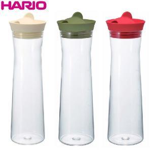 ハリオ HARIO ウォータージャグ 1000ml オフホワイト オリーブグリーン レッド ※各色 別売|hoonstore