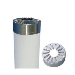配管保温材イノアックパイプガード25A用ステンレス菊座|hoonya-com