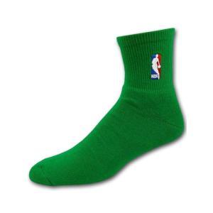 BK6  NBA 靴下 オフィシャルクォーターソックス 緑 M
