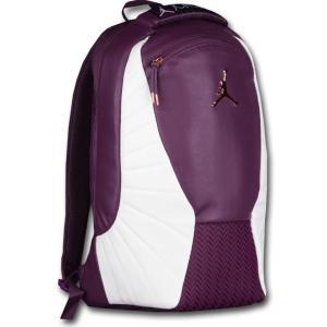 4cd62c1fdfb1 JB010 限定入荷・返品不可 Jordan Retro 12 Backpack ジョーダン リュックサック ボルドー白ローズゴールド