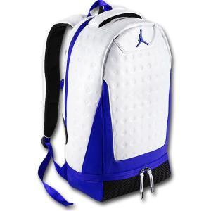 40216f3a7b5f JB011 限定入荷・返品不可 Jordan Retro XIII 13 Backpack ジョーダン リュックサック 白青黒