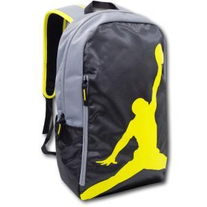 5c12bfc6c774 JB999 Jordan Jumpman Backpack ジョーダン リュックサック 黒ダークグレー黄色|hooptown ...