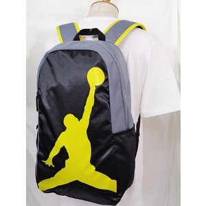 431ca5c36588 ... JB999 Jordan Jumpman Backpack ジョーダン リュックサック 黒ダークグレー黄色|hooptown|05